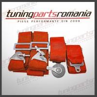 Centura Sport 4Puncte (Rosu) - QR - 76mm