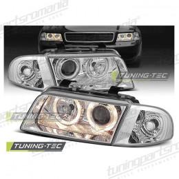 Faruri Audi A4 (B5) - Angel Eyes Chrome