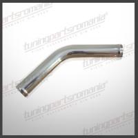 Teava 45Grade Aluminiu (L:2x15cm) - 70mm