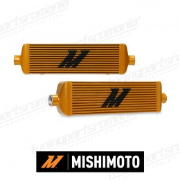 Intercooler Mishimoto J-Line (Gold) - 559x183x95 (Ø63)