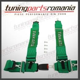Centura Sport 4Puncte TAKATA (Verde) - 76mm