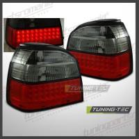 Stopuri Volkswagen Golf 3 (1H1) Red Smoked LED