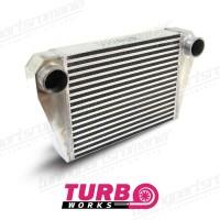 Intercooler Universal Turboworks 400x300x76 (Ø76) Back