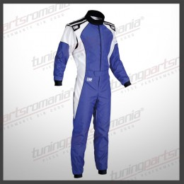 Combinezon Neomologat - OMP KS-3 FIA Level 2 - Albastru
