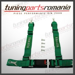 Centura Sport 4Puncte TAKATA (Verde) - 52mm