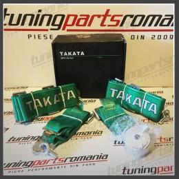 Centura Sport 4Puncte TAKATA (Verde) QR - 76mm