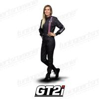Combinezon Omologat GT2i Race (Negru-Roz)