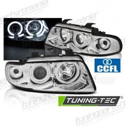 Faruri Audi A4 (B5) - Angel Eyes CCFL Chrome