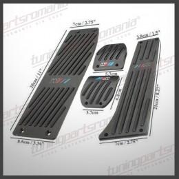 Set Universal Pedale BMW M - Black