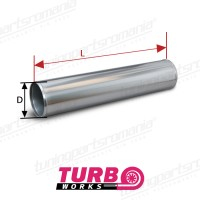 Teava Dreapta Aluminiu (L:10cm) - 20mm