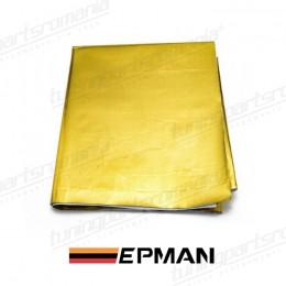 Folie Adeziva Termoizolanta Gold 100x120cm